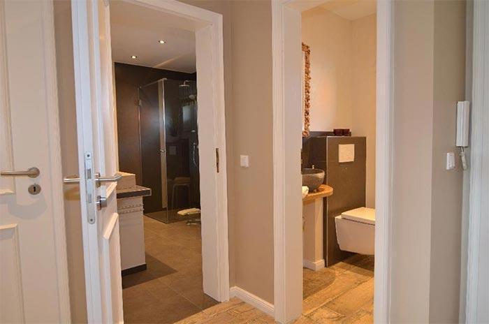Appartement-Vermietung Bals - Haus Sylt - Lornsenstraße 36a   Wohnung 1   Sylt   Westerland, 2-Zimmer-EG-Wohnung für 2 Personen mit 1 Schlafzimmer, 1 Badezimmer, Gäste WC, ca. 65 m2