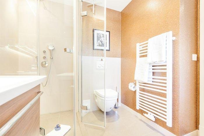 Appartement-Vermietung Bals - Weißes Haus am Meer - Steinmannstraße 33   2 Käpt'n Ahab   Sylt   Westerland, 1-Zimmer-EG-Wohnung für 2 Personen, 1 Wohn-/Schlafzimmer, 1 Badezimmer, ca. 33 m2