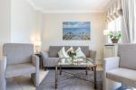Appartement-Vermietung Bals - Haus Rosengrund - Boy-Truels-Straße 2b | Sylt | Westerland, 3-Zimmer-EG-Wohnung  | Maisonette für 4 Personen mit 2 Schlafzimmer, 2 Badezimmer, Gäste WC, ca. 82 m2 - Bild-2