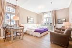 Appartement-Vermietung Bals - Weißes Haus am Meer - Steinmannstraße 33   2 Käpt'n Ahab   Sylt   Westerland, 1-Zimmer-EG-Wohnung für 2 Personen, 1 Wohn-/Schlafzimmer, 1 Badezimmer, ca. 33 m2 - Bild-1